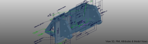 View 3D, PMI, Attributes & Captures/Model Views