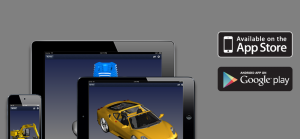 View, markup, section 3D files on iPad, iPhone and Android.
