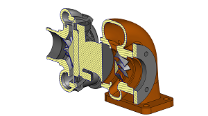 section CAD models