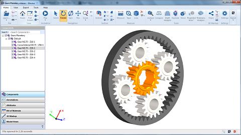 3Dreport model