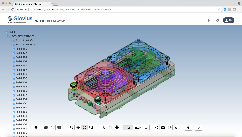 Glovius 3D viewer for Windows, iOS and Android | Glovius