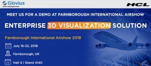 Glovius@Farnborough Air Show