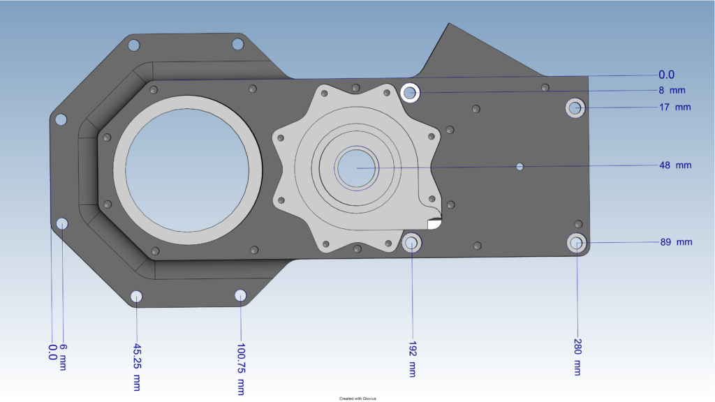 Measure CAD files in Glovius
