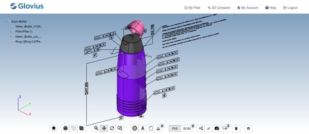 Glovius Cloud- CAD Viewer Online