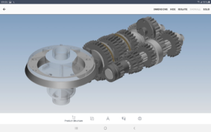 android 3d cad viewer