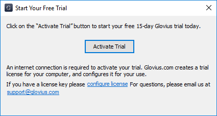Licensing option_Activation Trial