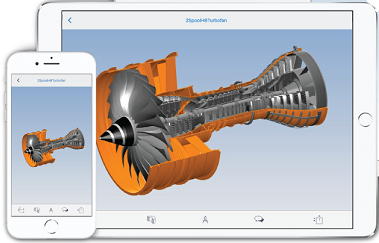 Pro/ENGINEER viewer iphone, ipad, android, online, mac.